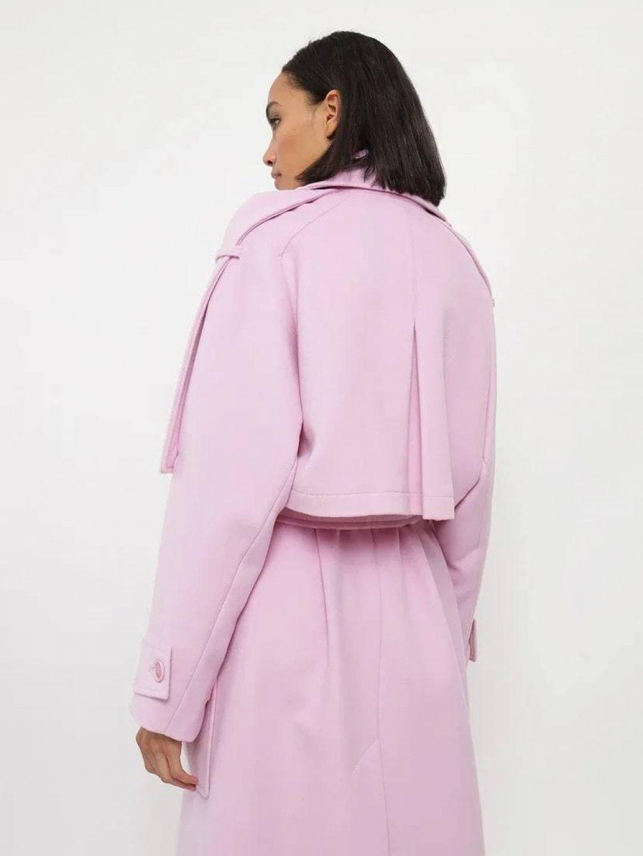 Демисезонное пальто Пушкин в цвете Лаванда_2