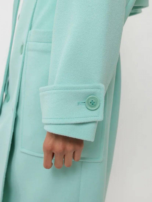 Демисезонное пальто Пушкин в мятном цвете_5
