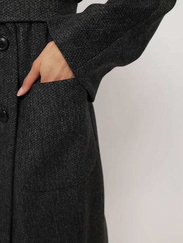 Демисезонное пальто Гоголя в цвете графит_5