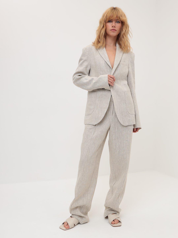 Пиджак изо льна_0
