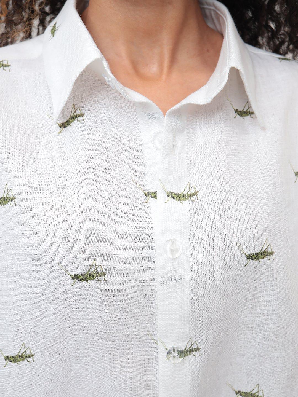 Рубашка в кузнечиках_4
