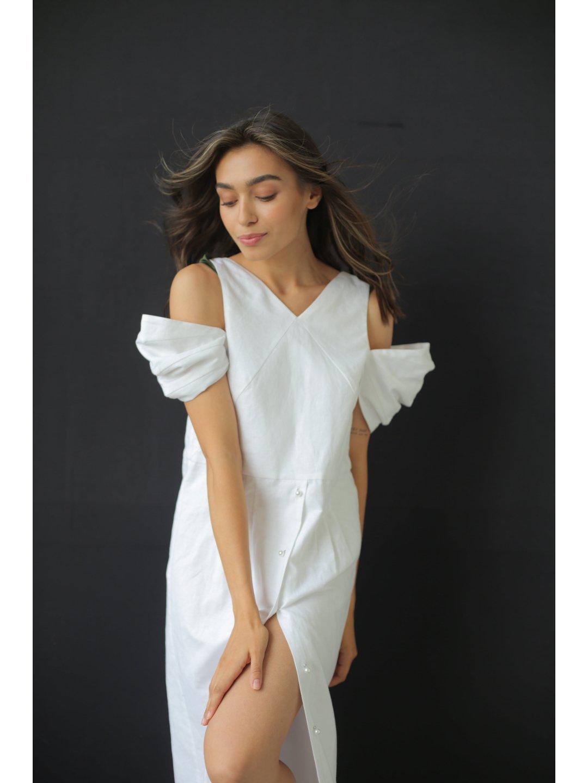 Платье изо льна_0