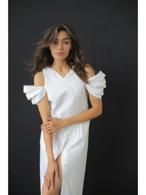 Платье изо льна_1