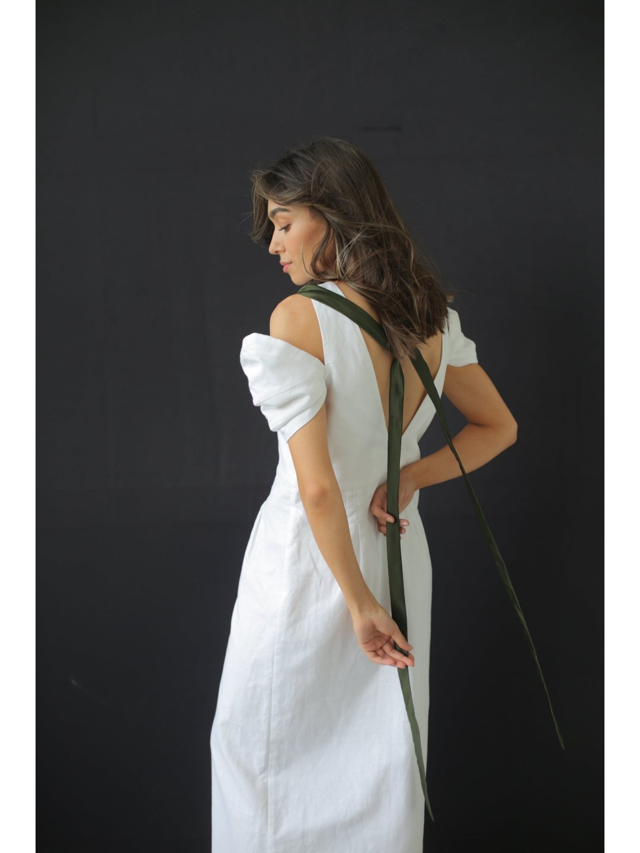 Платье изо льна_3