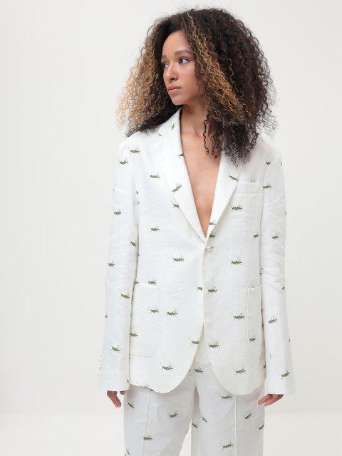 Пиджак в кузнечиках