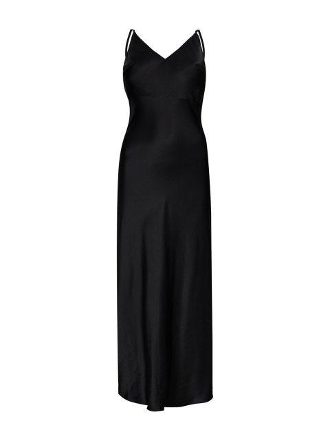 Платье-комбинация из шёлка