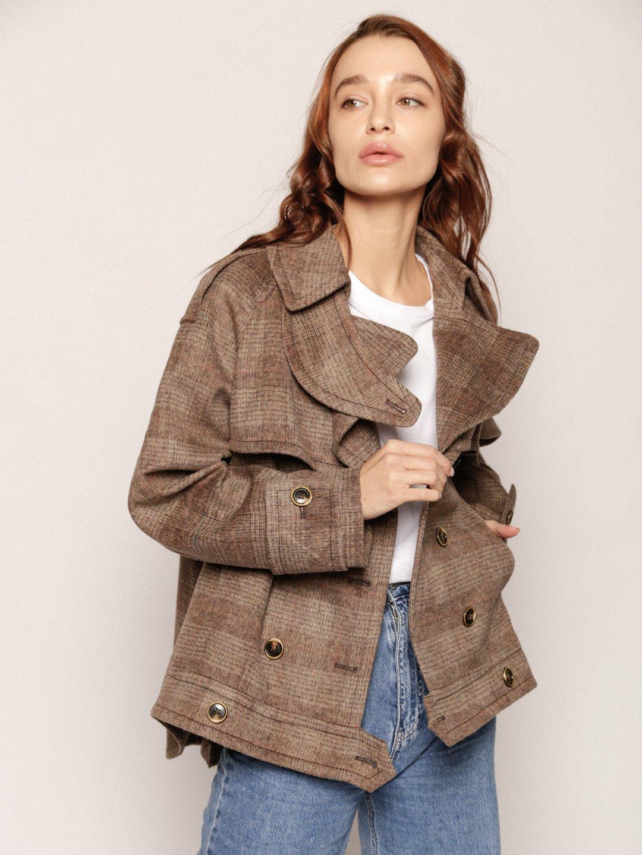 Пальто-тренч укороченное_1