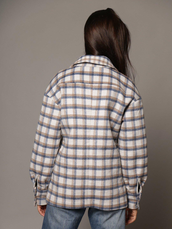 Пальто-рубашка в клетку_3
