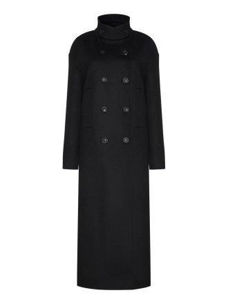 Пальто с хлястиком