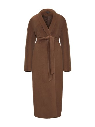 Пальто с воротником-шалькой